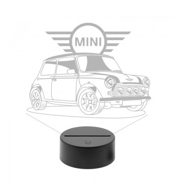 1959 Mini Cooper LED Lamp