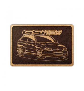 Opel Astra GSI 91 frame