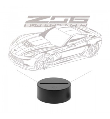 Corvette Z06 LED Lamp