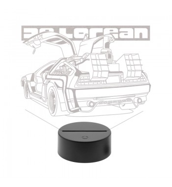 DeLorean LED Lamp