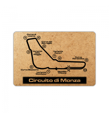 Circuit of Monza frame