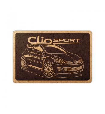 Renault Clio Sport frame